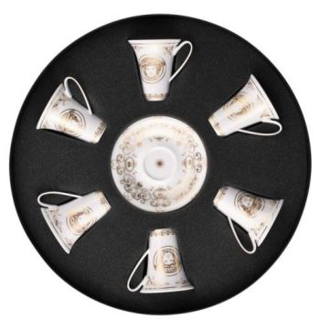 Versace Medusa Gala AD Cup & Saucer Set/Six Round Hat Box