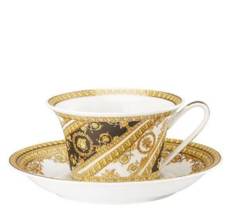 Versace I Love Baroque Tea Cup & Saucer