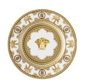 Versace I Love Baroque Bianco Bread & Butter Plate