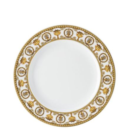 Versace I Love Baroque Bianco Dinner Plate