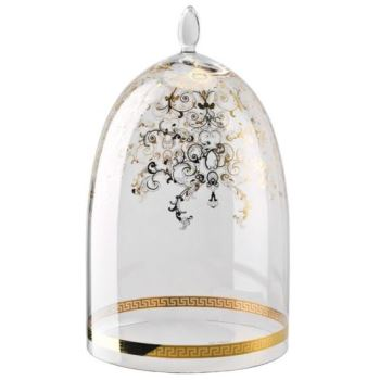 Versace Medusa Gala Glass Dome for Etagere 3 tiers