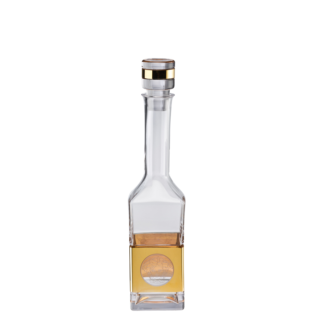 Versace Medusa Madness Oro Vodka decanter