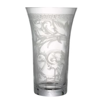 Versace Arabesque Clear Vase