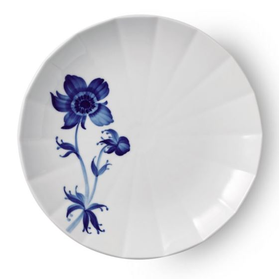Royal Copenhagen BLOMST SALAD PLATE FRENCH ANEMONE 8.75