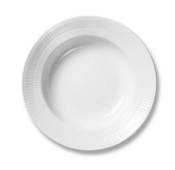 ROYAL COPENHAGEN WHITE FLUTED PLAIN Dinnerware
