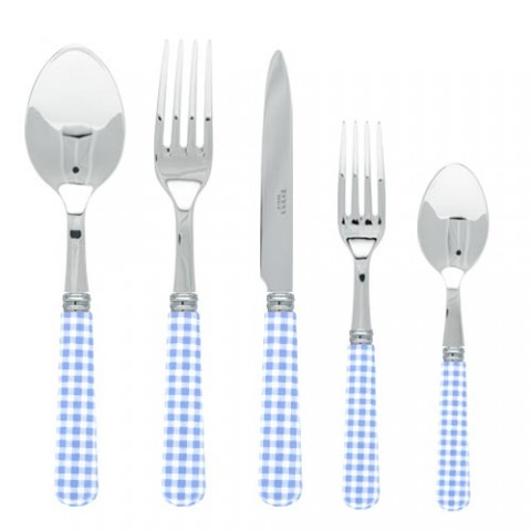 Sabre Gingham Light Blue