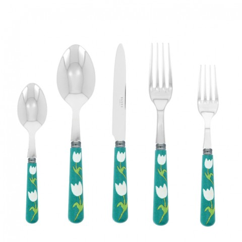 Sabre Tulip Turquoise Stainless