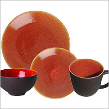 Jars TOURRON ORANGE Dinnerware
