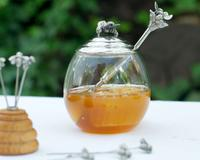 Vagabond House Honey Pot with Bee Spoon