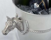 Vagabond House Ice Bucket - Spun - Horse