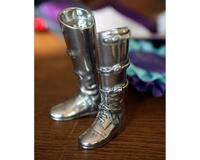 Vagabond House Salt and Pepper - Riding Boot