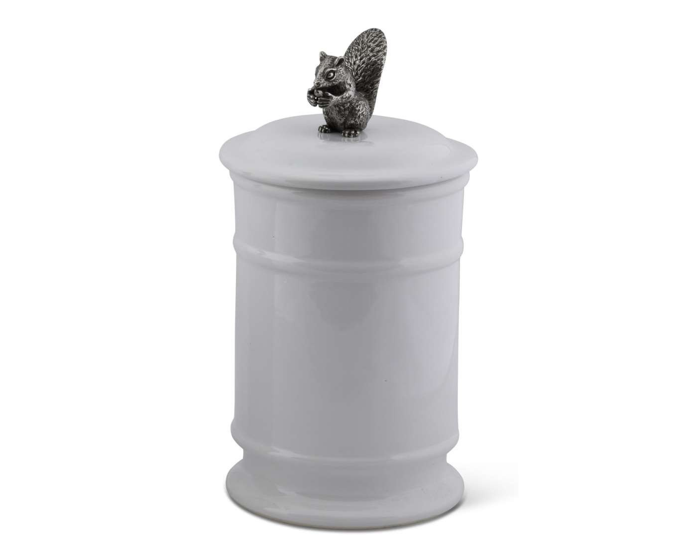 Vagabond House Stoneware Canister - Tall - Squirrel