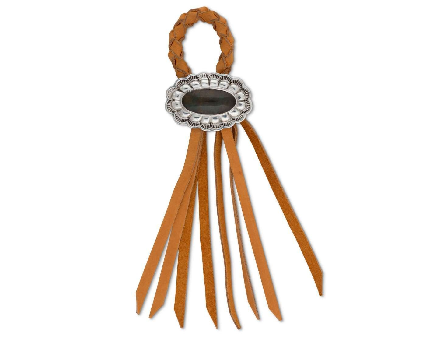 Vagabond House Napkin Ring Leather - Concho
