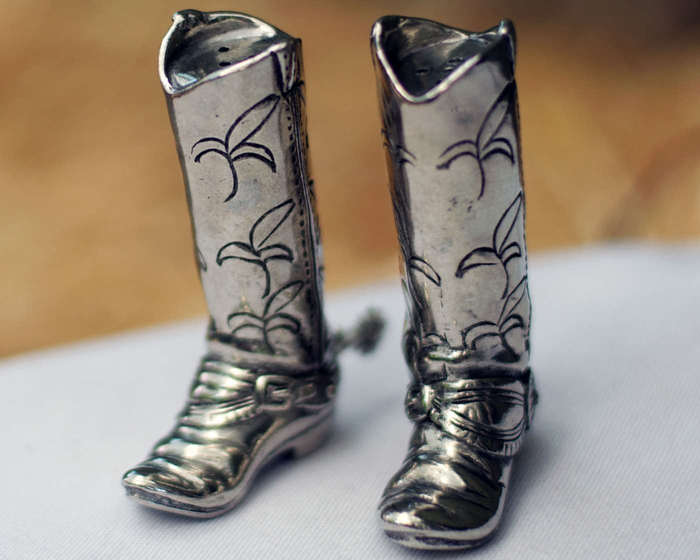 Vagabond House Salt and Pepper - Cowboy Boot