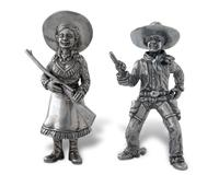 Vagabond House Salt and Pepper - Cowgirl/Cowboy