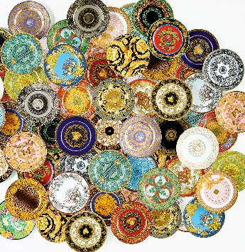 Versace 25 Years Dinnerware Selections