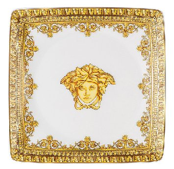 Versace I Love Baroque Bianco Dinnerware Selections