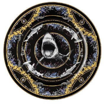 Versace La Regne Animal-Bruce Shark Dinnerware Selections