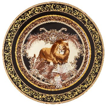Versace La Regne Animal-William Lion Dinnerware Selections