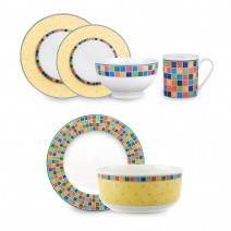 Villeroy and Boch Twist Alea Limone 18 PC SET