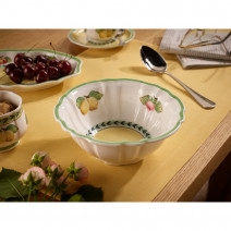 Villeroy and Boch French Garden Fleurence Rice Bowl-Fluted