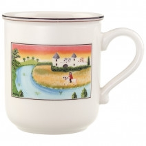 Villeroy and Boch Design Naif Mug #2-Man on Horse