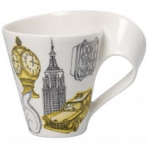 Villeroy and Boch NWC New York Mug : Gift Boxed