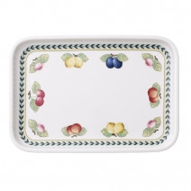 Villeroy and Boch French Garden Baking Rectangular Serving Plate/Lid