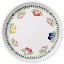 Villeroy and Boch French Garden Baking Round Serving Plate/Lid