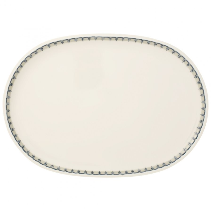 Villeroy and Boch Casale Blu Oval Fish Plate