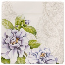 Villeroy and Boch Quinsai Garden Square Bread & Butter Plate : Camellia