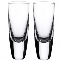 Villeroy and Boch American Bar-Straight Bourbon Shot Tumbler : Set of 2