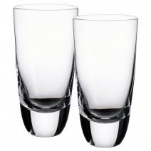 Villeroy and Boch American Bar-Straight Bourbon Highball Tumbler : Set of 2