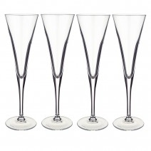 Villeroy and Boch Purismo Special Flute Champagne : Set of 4