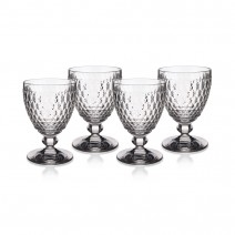 Villeroy and Boch Boston Goblet : Set of 4