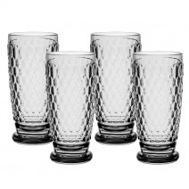 Villeroy and Boch Boston Colored Highball : Smoke-Set of 4