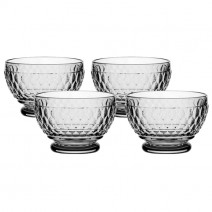 Villeroy and Boch Boston Colored Individual Bowl : Smoke-Set of 4