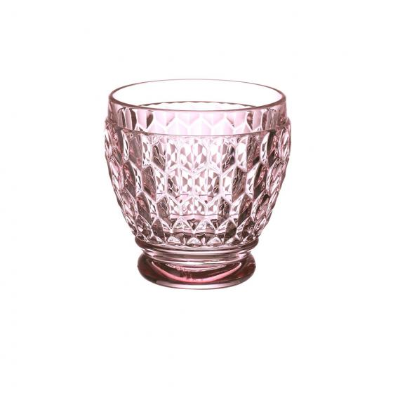 Villeroy and Boch Boston Colored Shot Glass : Rose-Set of 4