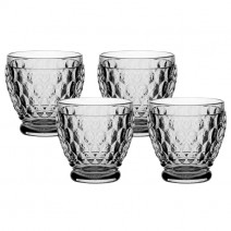 Villeroy and Boch Boston Colored Shot Glass : Smoke-Set of 4