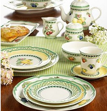 VILLEROY AND BOCH Charm Breakfast French Garden