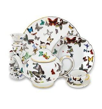 Vista Alegre HOLIDAY LACROIX - BUTTERFLY PARADE Dinnerware Selection