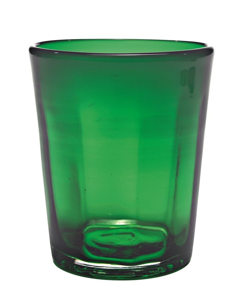 Zafferano Bei Tumbler Green - set of 6