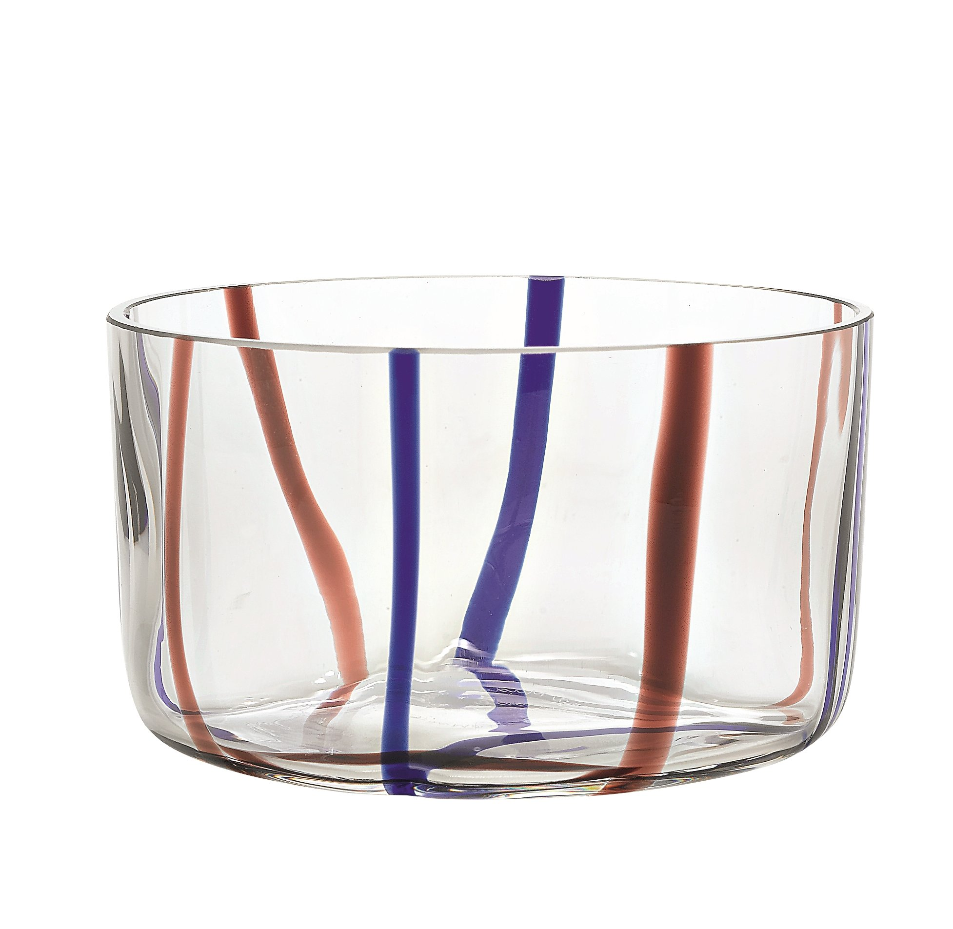 Zafferano Tirache Bowl Amethyst-Blue - set of 6