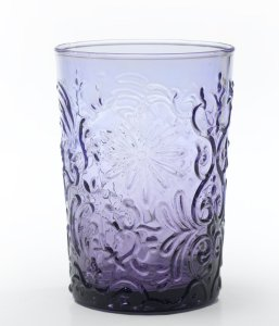 Zafferano Barocco Tumbler Rock Amethyst - set of 6