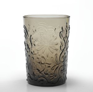 Zafferano Barocco Tumbler Rock Grey - set of 6