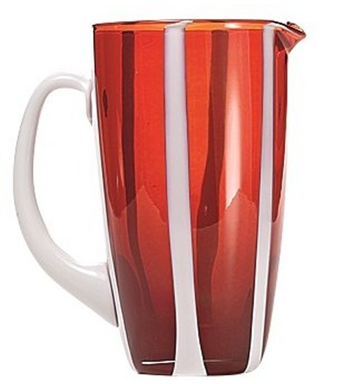 Zafferano Gessato Carafe Red