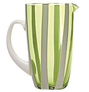 Zafferano Gessato Carafe Apple Green