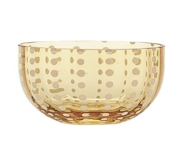 Zafferano Perle Bowl Amber - pair