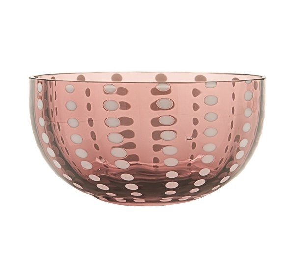 Zafferano Perle Bowl Amethyst - pair