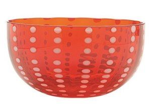 Zafferano Perle Bowl Red - pair